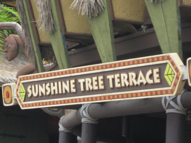 Sunshine tree terrace adventureland magic kingdom vacation for 11319 sunshine terrace