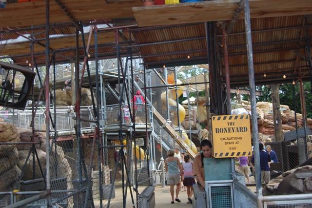 Boneyard Fossil Fun Site Dinoland Animal Kingdom Vacation ...