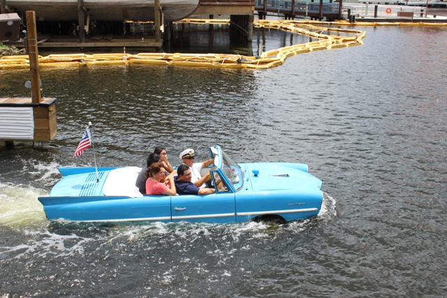 vintage amphicar italian water taxi tours the boathoue the landing