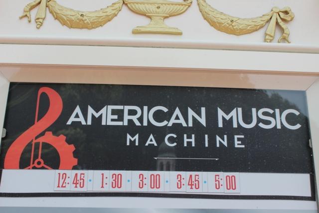 american machine epcot