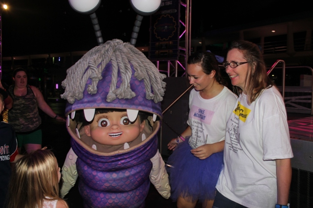 boo monsters inc dance party mickeys not so scary