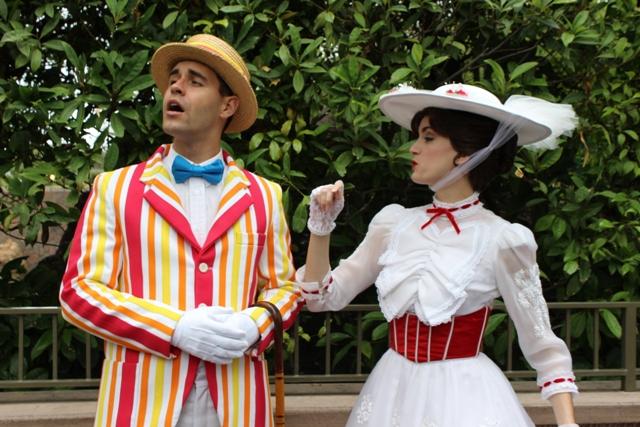 Mary Poppins Fantasyland Disneyland Vacation Pictures Disney World ...