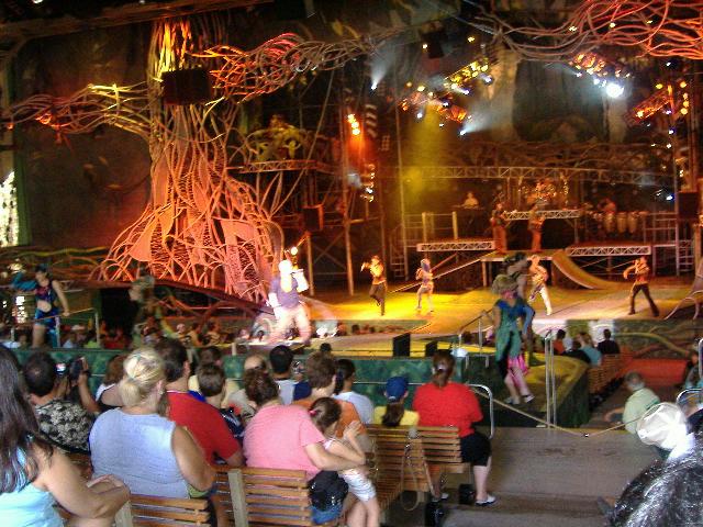 Tarzan Rocks Dinoland Usa Animal Kingdom Vacation Pictures