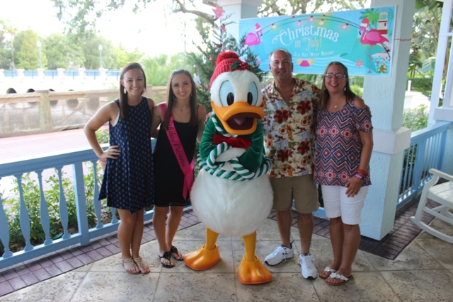 Christmas In July Disney World.Donald Duck Christmas In July Disney Vacation Club Dvc Event